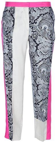 By Malene Birger mixed print trouser