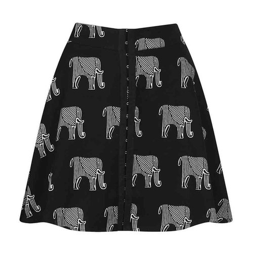 Topshop Elephant Print Skirt | Review