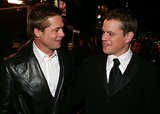 "In an interview on the Today show in 2013, Matt Lauer asked Matt Damon about his Brad Pitt impression, and he inferred it's more than just an impression:  ""I spend my life trying to be Brad Pitt."""