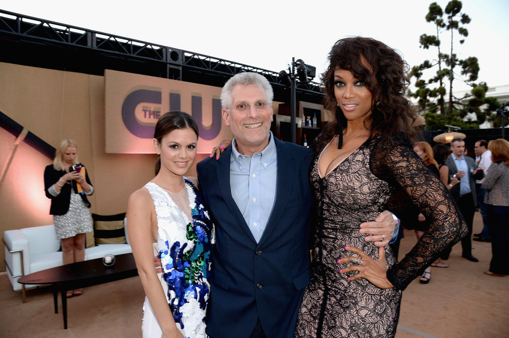 Rachel Bilson, Mark Pedowitz and Tyra Banks