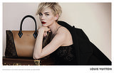 Michelle Williams's Fall 2013 Louis Vuitton Handbag Campaign