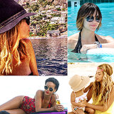 Celebrity-Approved Hairstyles For Spring Break Pools and Beaches
