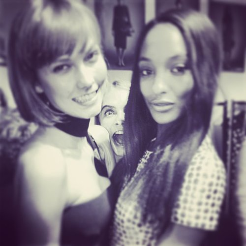 Karlie Kloss and Jourdan Dunn Birthday