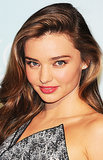 Miranda Kerr's glowing skin and glossy pink lips were the perfect promotion for her Kora Organics line at a recent press conference. Her sexy waves were pretty awe-inducing, too.