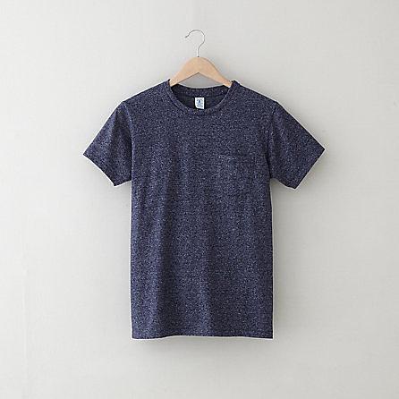 VELVA SHEEN pocket t-shirt