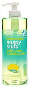 Bliss Lemon + Sage Soapy Suds Body Wash + Bubbling Bath