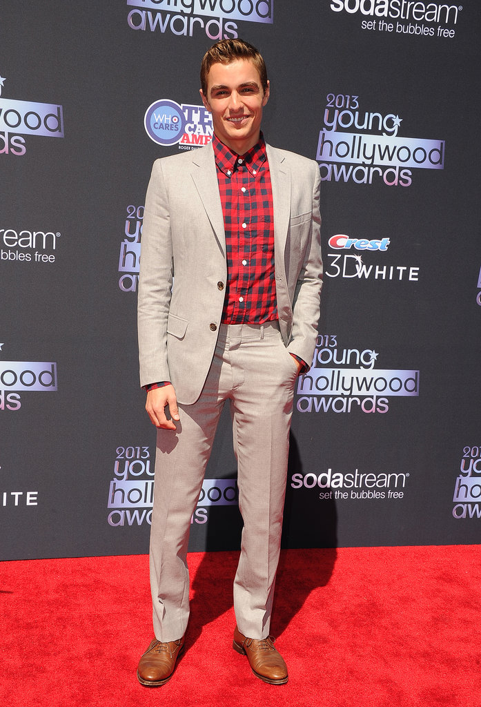 Now You See Me and Warm Bodies star Dave Franco struck a casual pose on the red carpet.