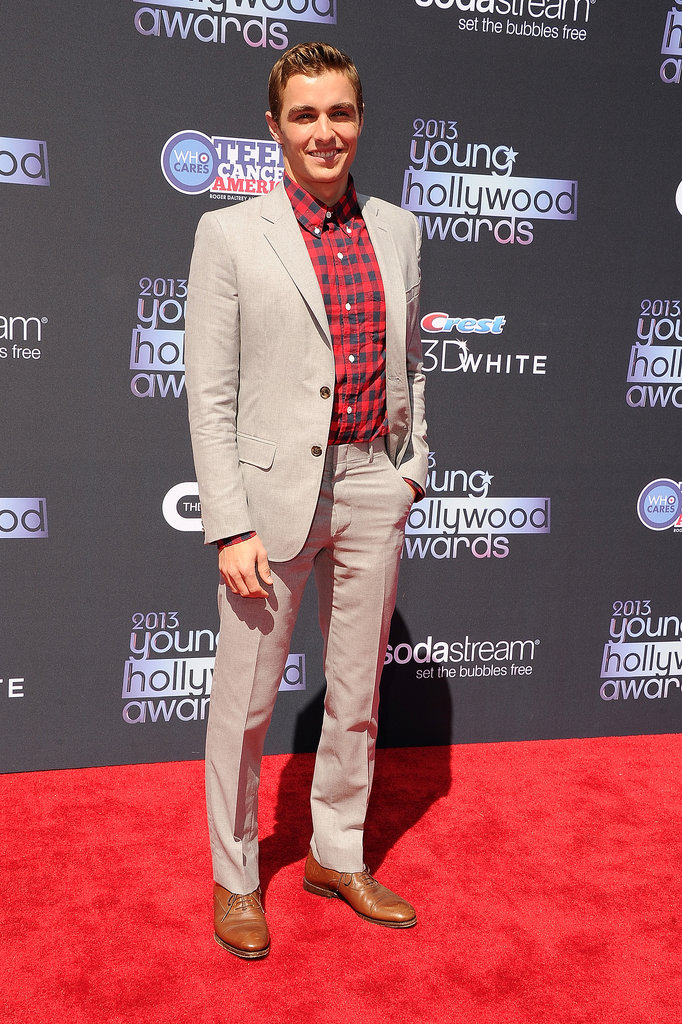 Dave Franco smiled while walking the Young Hollywood Awards red carpet.