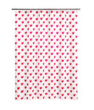 This veers into precious territory, but we couldn't resist the red and pink repeating heart and arrow motif on this shower curtain ($20).