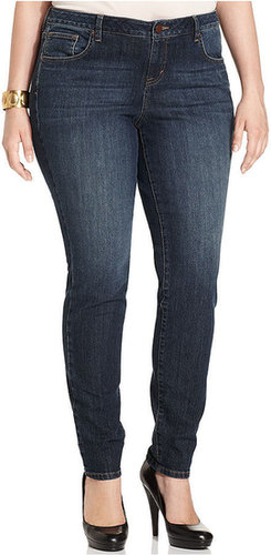 Style&co. s&co. Plus Size Jeans, Skinny, Charade Wash