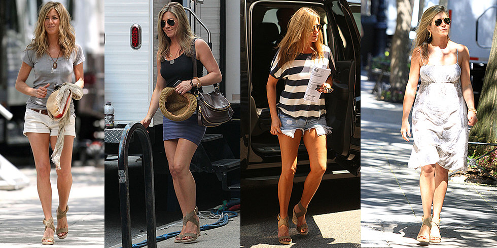 Jennifer Aniston's Secret to Perfect Summer Legs