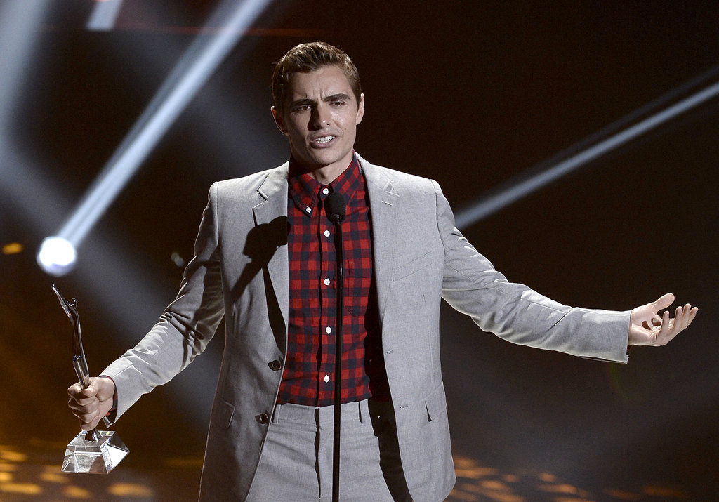 Dave Franco accepted the Fan Favorite Award at the Young Hollywood Awards.