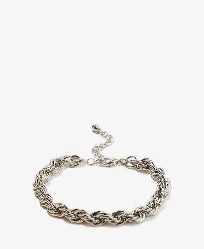 FOREVER 21 Rope Chain Bracelet