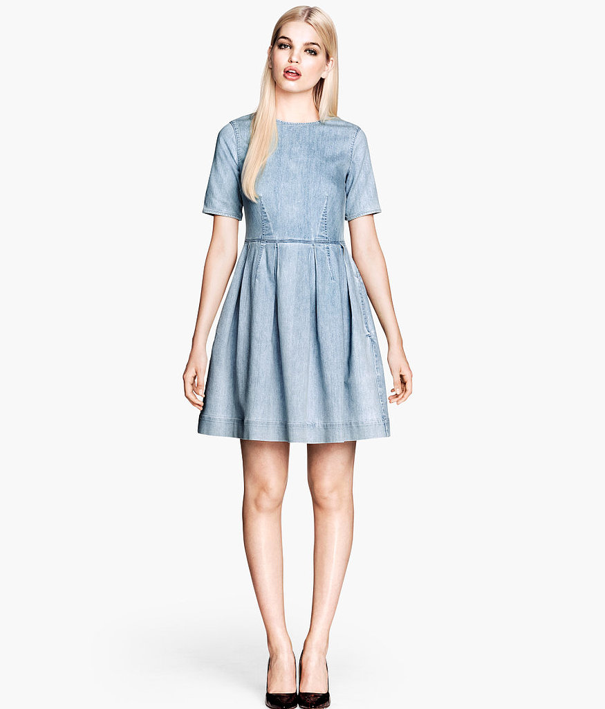 Any closet will appreciate a darling denim dress ($60).