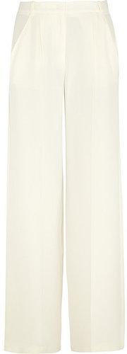 Joseph Washed-silk wide leg pants