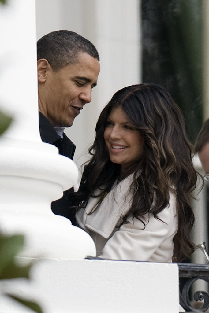 Fergie chatted with President Obama after she sang that national anthem at the 2009 White House Easter celebrations.