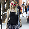 Gwen Stefani Wearing Pink Sunglasses