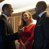 Barack Obama und berühmte Promis