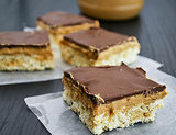 Tagalongs Rice Krispies Treats