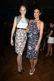 Elizabeth Debicki and Megan Gale