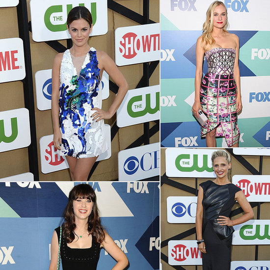 TV's Hottest Stars Trade Their Summer Holidays For the Red Carpet
