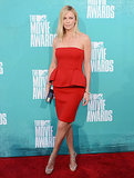 Charlize Theron showed off her figure at the MTV Movie Awards back in June 2012.