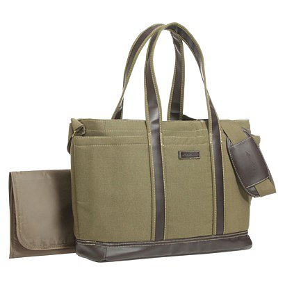 Eddie Bauer Canvas Tote Diaper Bag