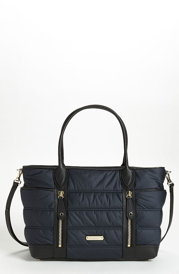 Burberry Olympia Quilted Diaper Bag