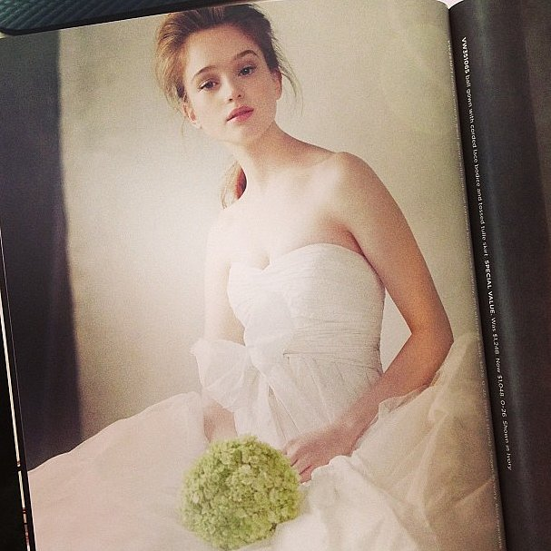 How beautiful is this look from Vera Wang for David's Bridal?