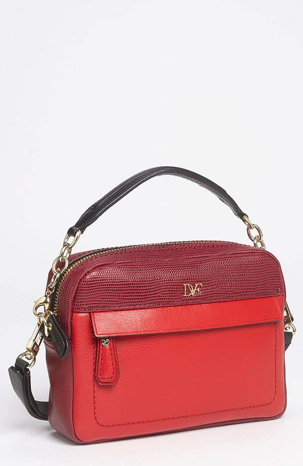 Add a peppy little Diane von Furstenberg crossbody bag ($200, originally $295) to the mix next season.