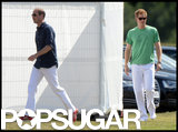 Prince William and Prince Harry arrived in Ascot to play polo.