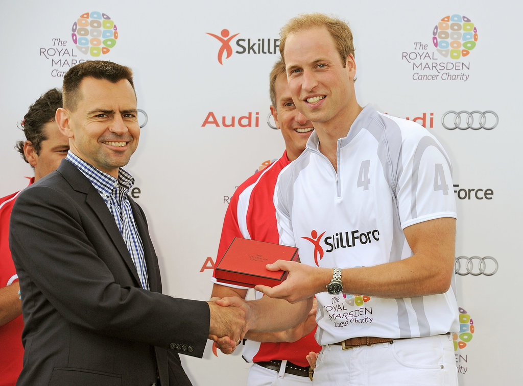 "Prince William Reveals It Was ""Good to Get Out of the House"" For His Polo Match"
