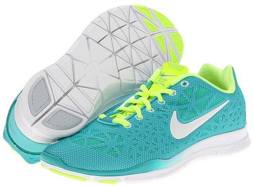 Nike - Free TR 3 Breathe (Sport Turquoise/Volt/Ice Blue/White) - Footwear