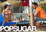 Eva Longoria wore a bikini for a beach day with Ernesto Arguello in Marbella, Spain.