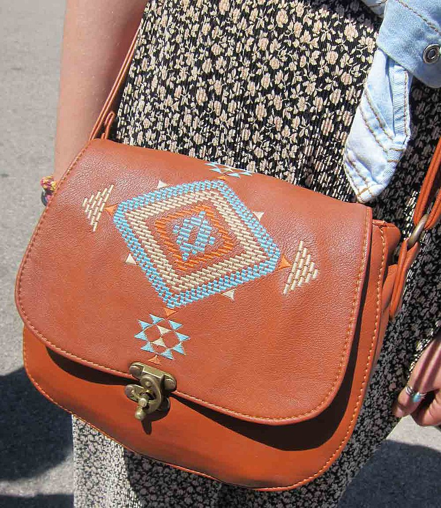 Authentic or not, we want a version of this Native American-inspired satchel.