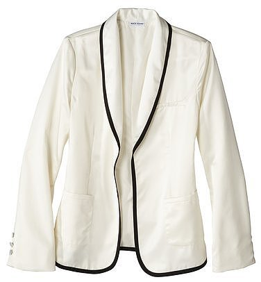 Kate Young For Target® Satin Blazer -Cream