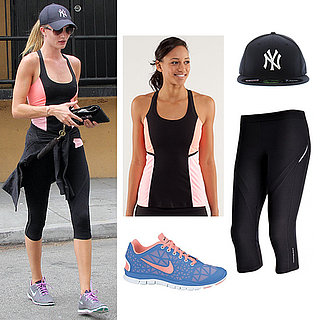Rosie Huntington-Whiteley Workout Style