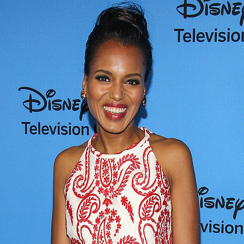 Kerry Washington Wedding Ring Pictures at 2013 Summer TCA