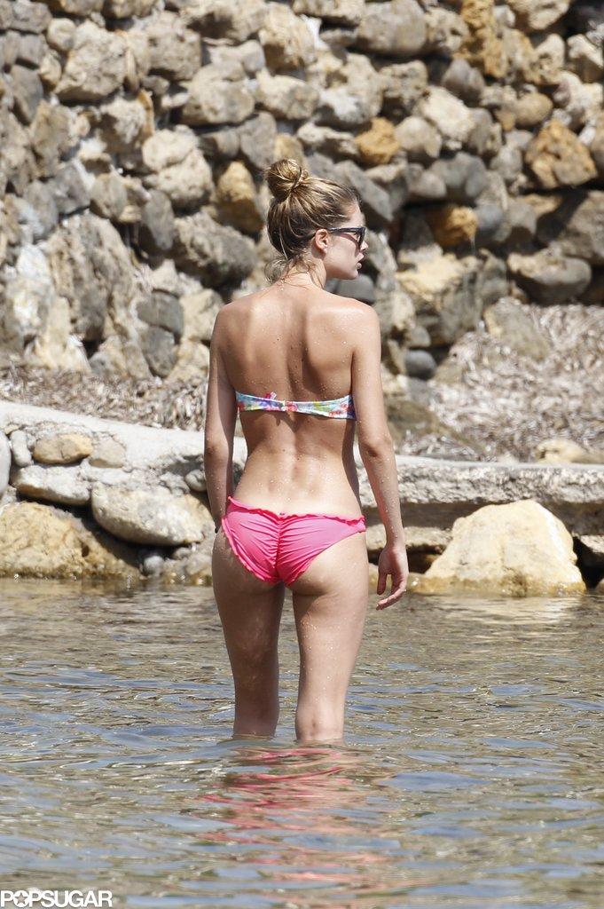 Doutzen Kroes Mixes Bikini Time and Family Fun in Ibiza