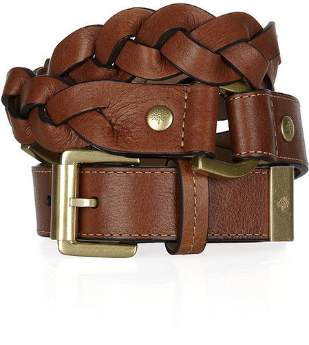 Mulberry Braided leather belt