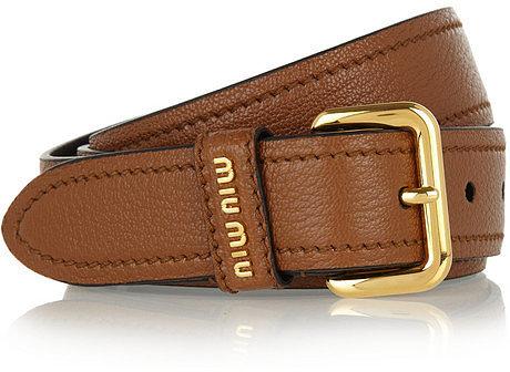 Miu Miu Leather belt