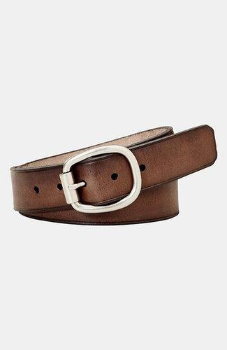 Fossil Leather Belt Brown Medium