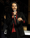 "Russell Brand took some not-so-nice jabs at ex-wife Katy Perry during a July 2013 stand-up routine at London's Soho Theatre. During the show, he joked about how he considered becoming a monk after the couple's 2011 divorce, saying, ""When you're a monk, you're not allowed to have sex with anyone. When you're married, it's one person. That's one more than a monk. It's not that different."" About sleeping with Katy, he added, ""I'd be having sex thinking, 'Think of anyone, anyone else.'"""