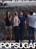 Leonardo DiCaprio and His Bikini Babe Hit Up Spain