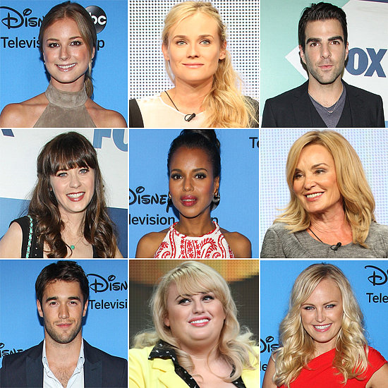 TV's Biggest Stars Close Out the TCA Press Tour