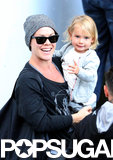 Pink spent time in Sydney, Australia, with her daughter, Willow.