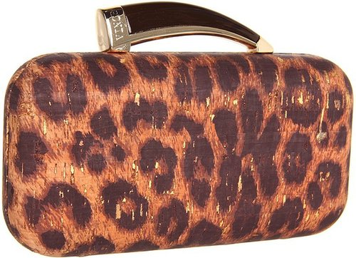 Vince Camuto - Horn Clutch (Leopard) - Bags and Luggage