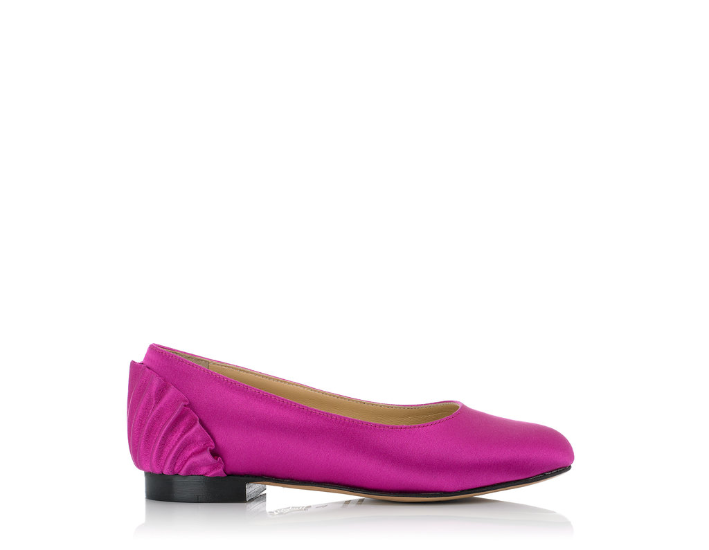 Charlotte Olympia Pamela flat ($295) in pink.