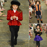 Your Front-Row Seat to Ralph Lauren Girls' Fall 2013 Runway Show!