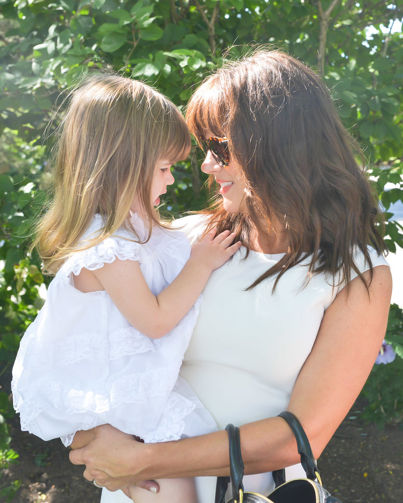 Tiffani Thiessen With Daughter Harper